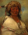 George Catlin - Great Hero, a chief - 1985.66.386,321 - Smithsonian American Art Museum.jpg