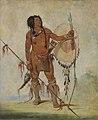 George Catlin - His-oo-sán-chees, Little Spaniard, a Warrior - 1985.66.51 - Smithsonian American Art Museum.jpg
