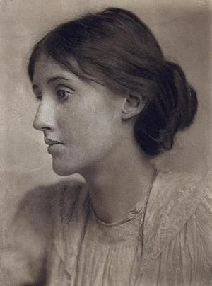 Portrait of Virginia Woolf (1882-1941)