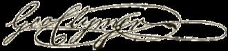 George Clymer - Image: George Clymer signature