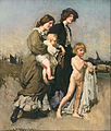 George W. Lambert - The holiday group (The bathers) - Google Art Project.jpg