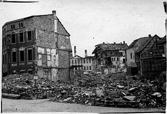 Gera after bombing, 1945 Gera Germany during American occupation in 1945.jpg