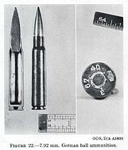 composite photograph of cartridge cut in half stood next to intact cartridge and base of cartridge