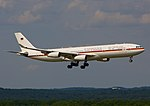 German Airforce landet am Köln Bonn Airport - Airbus A340-300.jpg