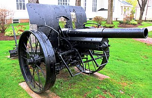 German Great War 10.5-cm leFH 16 Field Gun, Summerside, Prince Edward Island