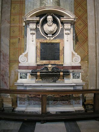 Bust of Giovanni Vigevano - Image: Gian lorenzo bernini, Sepolcro di Giovanni Vigevano (1630) 01