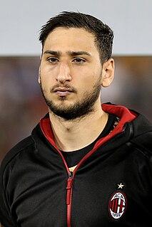 Gianluigi Donnarumma Italian association football player