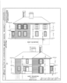 Giddings Tavern, 37 Park and Summers Streets, Exeter, Rockingham County, NH HABS NH,8-EX,7- (sheet 7 of 25).png
