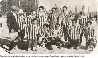 Gimnasia y Esgrima de Mendoza - Gimnasia y Esgrima in 1923.