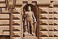 Giorgio Sommer, King's Gate Valletta (statue of L'Isle-Adam).jpg