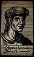 Giovanni Michele Savonarola. Line engraving, 1688. Wellcome V0005233.jpg