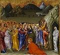 Giovanni di Paolo - The Resurrection of Lazarus - Walters 37489A.jpg
