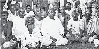 Mahendranath Gupta - Girish Chandra Ghosh, Swami Adbhutananda, Mahendranath Gupta and other disciples and devotees of Ramakrishna