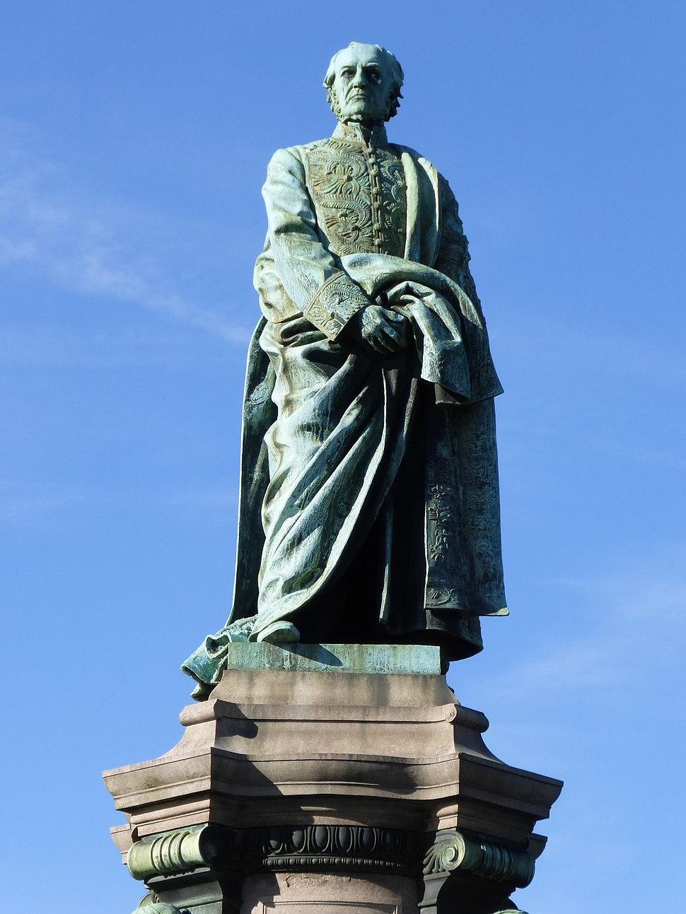 Gladstone Monument statue, Coates Crescent Gardens, Edinburgh