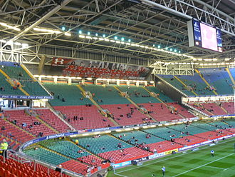 Fear Her - The Millennium Stadium in Cardiff was used for the Olympic Stadium.