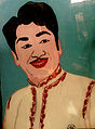 Glass paint of Akkineni Nageswara Rao.jpg