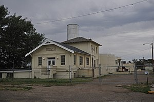 National Register of Historic Places listings in Dawson County, Montana - Image: Glendive MT Water Filtration Plant