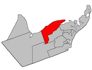 New Bandon Parish, New Brunswick Parish in New Brunswick, Canada