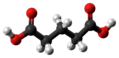 Glutaric acid molecule ball from xtal.png