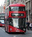 Go-Ahead London LTZ1044, Strand, Charing Cross, London, 15-4-2017 (cropped).jpg