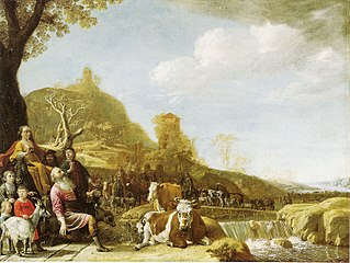 God Appearing to Abraham at Sichem
