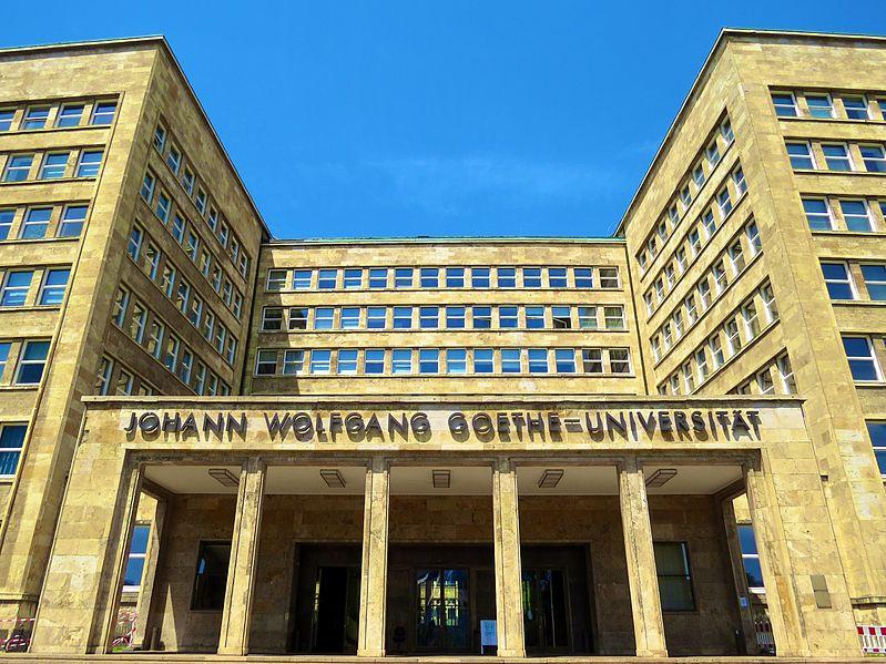 File:Goethe Universität Frankfurt, Goethe Installation (14202940820).jpg