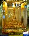 Golden pagoda in Chanthargyi, Mogok.jpg