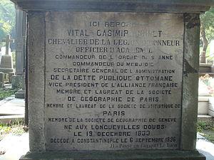 affiche Vital Cuinet