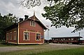 Gotlandståget Hesselby Dalhem stationshus gotland.jpg