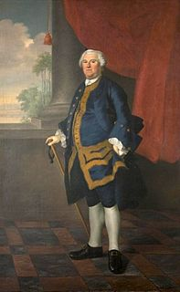 Benning Wentworth Colonial governor
