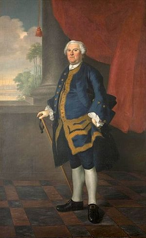Ethan Allen - New Hampshire Governor Benning Wentworth