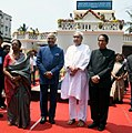 Governor S. C. Jamir with CM Naveen Patnaik and President Kovind.jpg