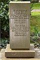 Grabstein Hofbaurat Wilhelm Mackensen Architekt BDA 1869-1955 und Helene Justorff 1868-1938, Stadtfriedhof Engesohde, Hannover.jpg