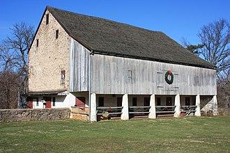 Horsham Township, Montgomery County, Pennsylvania - Barn at Graeme Park.