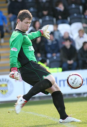 Graeme Smith (footballer, born 1983) - Smith playing for Motherwell