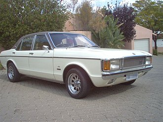 Basil Green Motors - Ford Granada V8