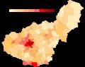 Granada densidad población 2018.png