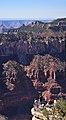 Grand Canyon National Park View below Grand Canyon Lodge on North Rim 0293 (13157890783).jpg
