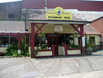 "Cornish Americans - A ""Cousin Jack's"" pasty shop in Grass Valley, California"