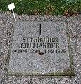 Grave of swedish styrbjörn colliander in lund sweden.jpg