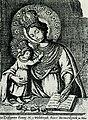 Graviura, zroblenaja Lavoncijem Tarasievičam z abraza Maci Božaj ź Mienskaha kaścioła bernardynak.jpg