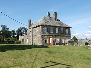 Potheridge - Great Potheridge in 2014, the surviving wing of George Monck's mansion, south front