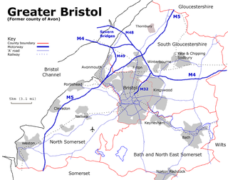 Greater Bristol human settlement in United Kingdom