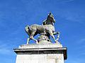 Greek Warrior Horse, Pont d'Iéna, Paris June 2014.jpg