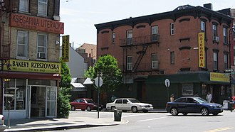 Polish Americans - Greenpoint, Brooklyn, considered the center of New York City's Little Poland.