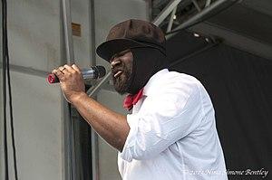 Gregory Porter - Porter at JazzLive International, Pittsburgh, 2013