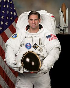 Gregory Chamitoff, seen here in November 2007, was a fourth mission specialist for STS-134. Image: NASA.