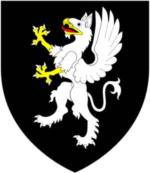 John Griffin, 4th Baron Howard de Walden - Image: Griffin (Baron Howard De Walden) Arms