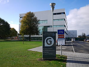 Grimsby Institute of Further & Higher Education - Image: Grimsby Institute of Further and Higher Education 1