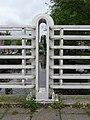 Grote Houtbrug - Haarlem - Metal railing -fence post.jpg